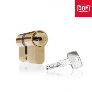 Wkładka DOM IX6SR 35/50mm mosiądz