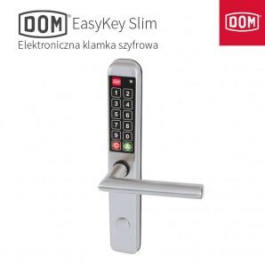Klamka elektroniczna DOM EASYKEY Slim 72mm