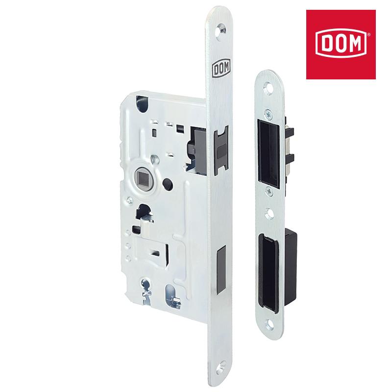 Zamek magnetyczny DOM BERENIKA klucz cynk biały