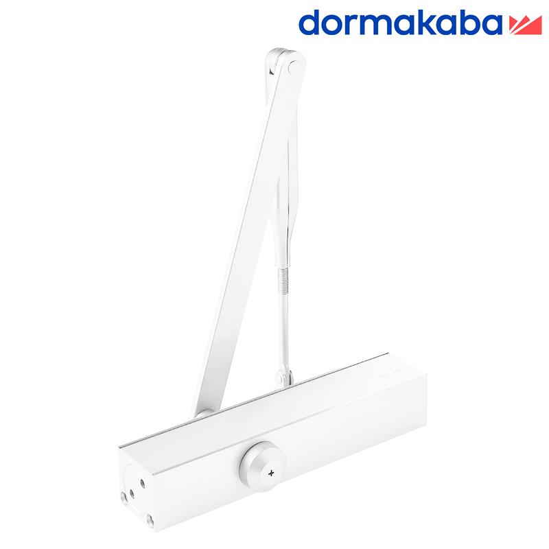 Samozamykacz DORMA TS 79 (EN 3-4) z ramieniem biały