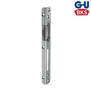 Zaczep główny do elektrozaczepu GU 25x16.5  z regulacją cynk biały lewy/prawy
