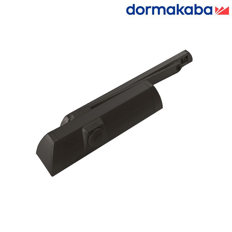 Samozamykacz DORMA TS 90 (EN 3-4) z szyną brązowy