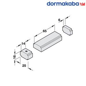 Ogranicznik kąta otwarcia dla szyny do TS 91,92,93