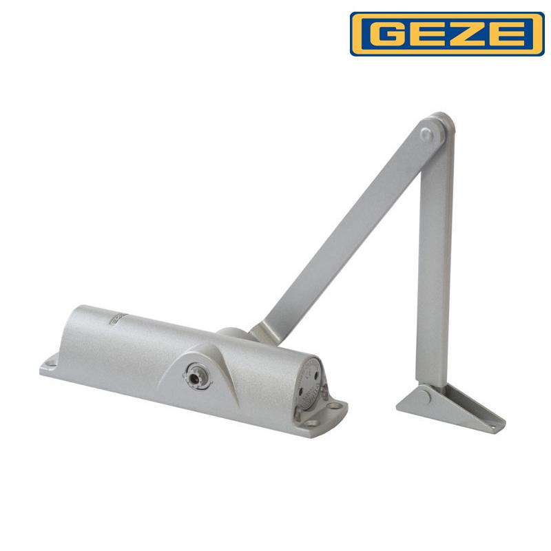 Samozamykacz GEZE TS 1000 z ramieniem srebrny