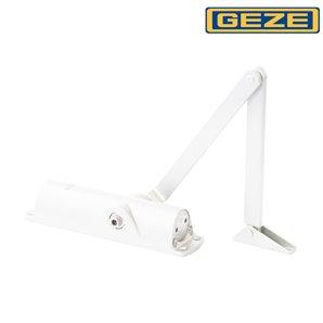 Samozamykacz GEZE TS 1000 z ramieniem biały