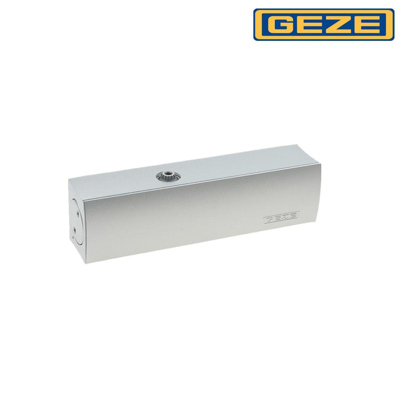 Samozamykacz GEZE TS 1500 bez ramienia srebrny