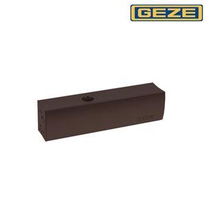 Samozamykacz GEZE TS 1500 bez ramienia brązowy