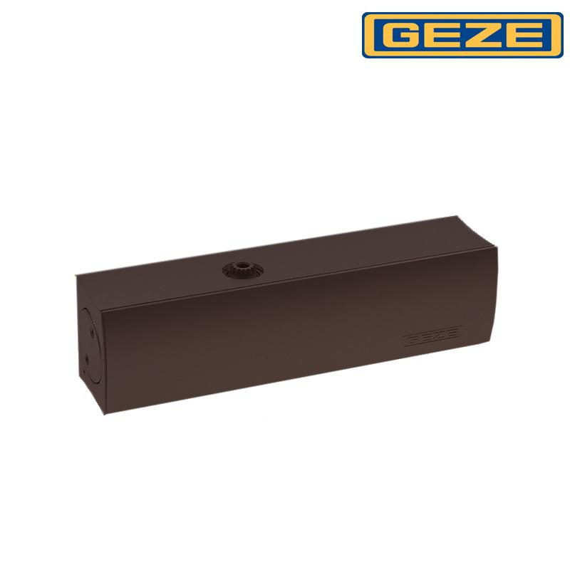 Samozamykacz GEZE TS 2000 VBC bez ramienia brązowy
