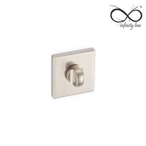 Rozeta kwadrat INFINITY wc INOX RXQ 503