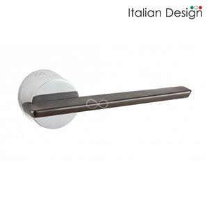 Klamka ITALIAN DESIGN GEMELLO chrom/tytan