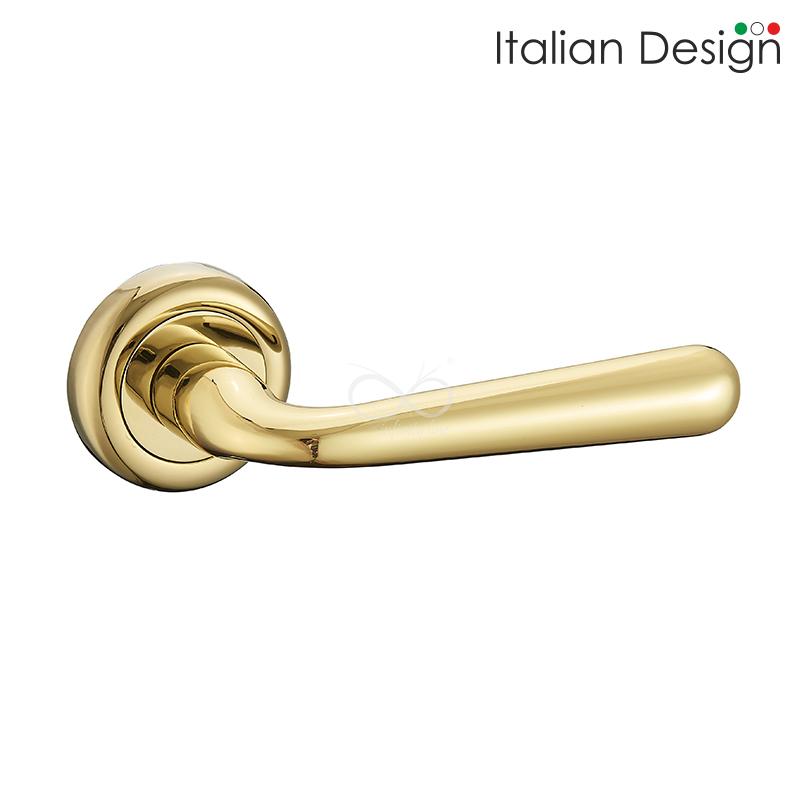 Klamka Italian Design Lea Złota