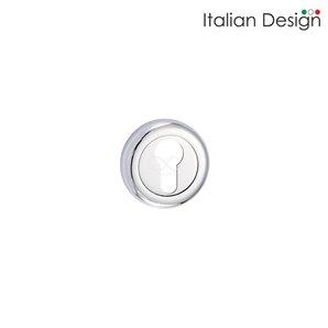 Rozeta ITALIAN DESIGN okrągła bęb chrom RCO 702