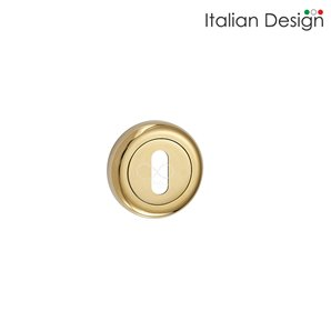 Rozeta ITALIAN DESIGN okrągła klucz złota RCO G01