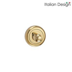 Rozeta ITALIAN DESIGN okrągła wc złota RCO G03