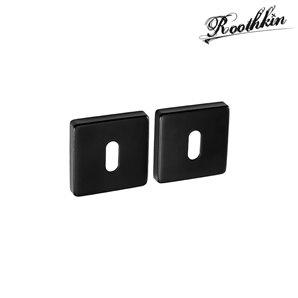Rozeta kwadratowa QR1 czarny RAL9005 klucz