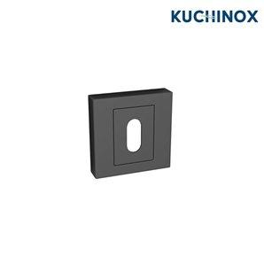 Rozeta kwadratowa klucz czarna QUBIK