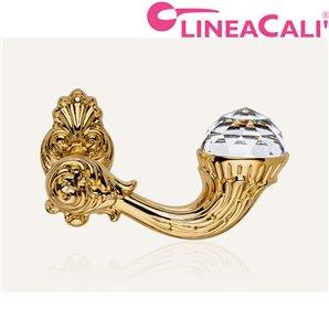 KLAMKA LINEA CALI BRILLIANT SZYLD OZDOBNY 091 złocony