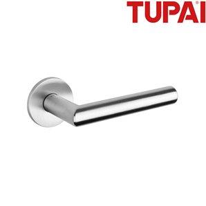 Klamka TUPAI 4002 R 5S 96 chrom szczotkowany