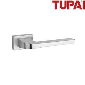 Klamka TUPAI 3097RT  96 chrom szczotkowany