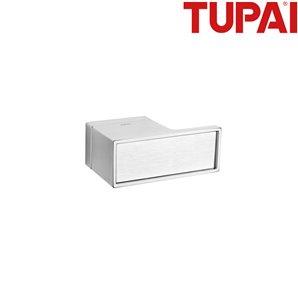 Klamka TUPAI 3088RT H 96 chrom szczotkowany
