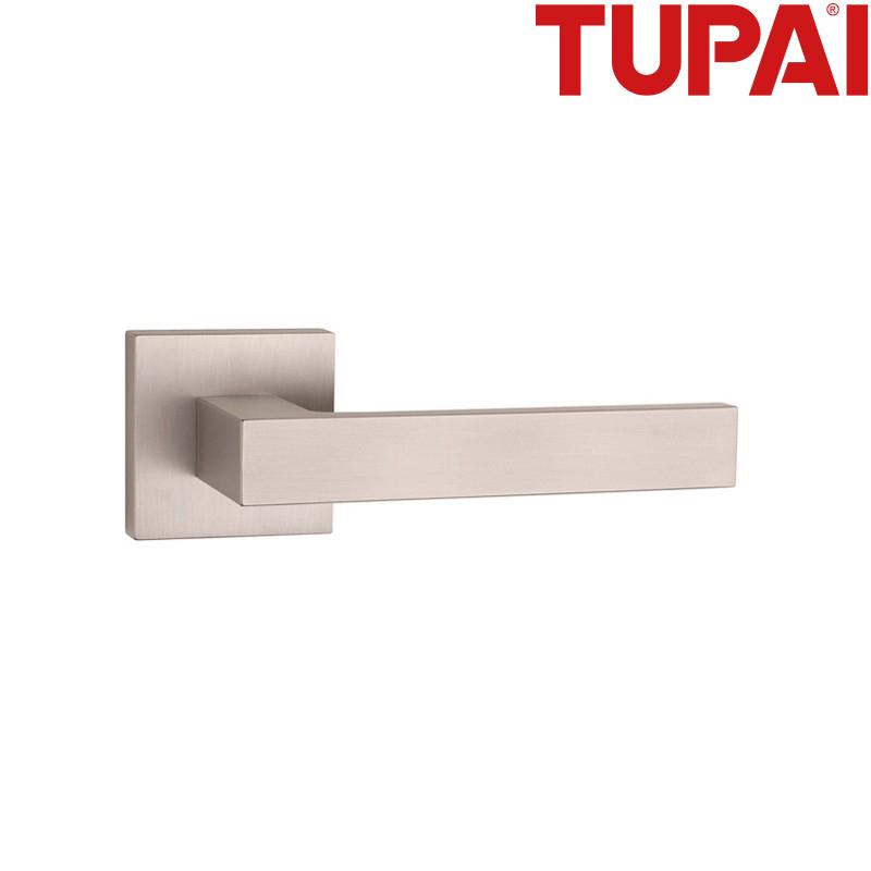 Klamka TUPAI 2275 Q  142 nikiel szczotkowany