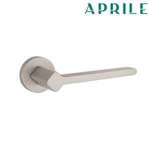 Klamka APRILE NINFEA R 142 nikiel szczotkowany