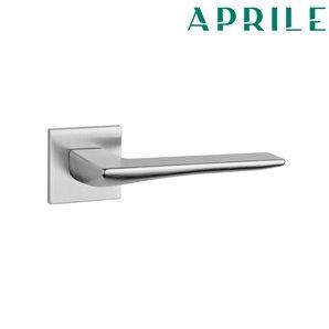 Klamka APRILE IRIS Q 5S 96 chrom szczotkowany