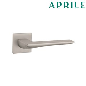Klamka APRILE IRIS Q 5S 142 nikiel szczotkowany