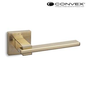 Klamka CONVEX 745 mosiądz satyna