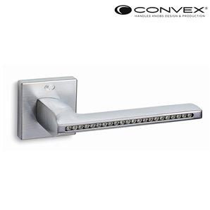 Klamka CONVEX 1125 chrom satyna+Swarovsky
